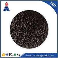 Pressure swing adsorption activated carbon